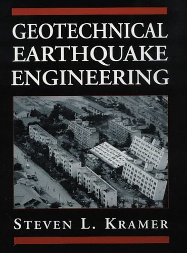 Geotechnical Earthquake Engineering   1996 edition cover