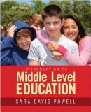 Introduction to Middle Level Education 3rd 2015 edition cover