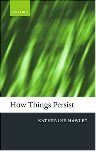 How Things Persist   2004 edition cover