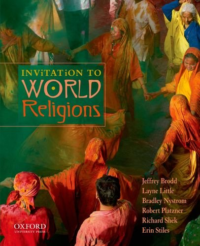 Invitation to World Religions   2012 9780199738434 Front Cover