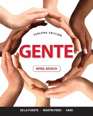 Gente  3rd 2012 (Revised) 9780205783434 Front Cover