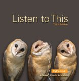 Listen to This Plus NEW MyMusicLab with Pearson EText -- Access Card Package  3rd 2015 edition cover