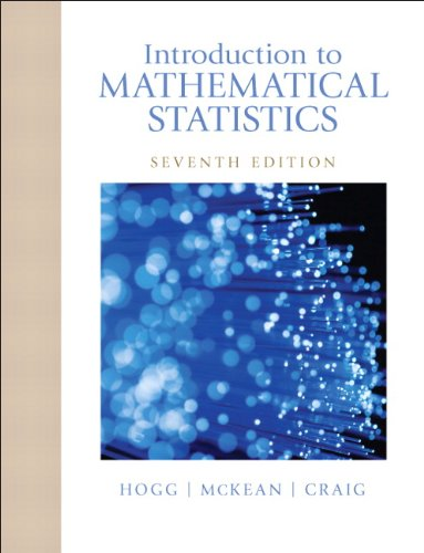 Introduction to Mathematical Statistics  7th 2013 (Revised) edition cover