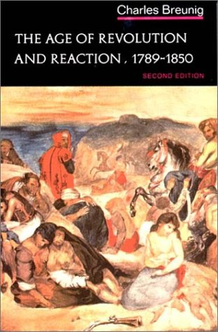 Age of Revolution and Reaction, 1789-1850  2nd edition cover
