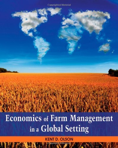 Economics of Farm Management in a Global Setting   2011 edition cover