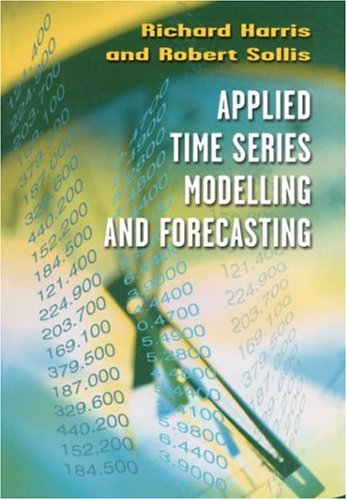 Applied Time Series Modelling and Forecasting   2002 9780470844434 Front Cover