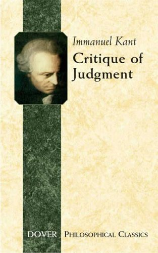 Critique of Judgment   2005 edition cover