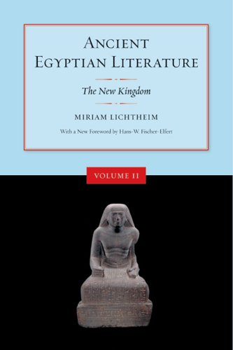Ancient Egyptian Literature The New Kingdom 2nd 2006 (Revised) edition cover