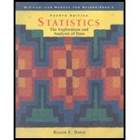 Statistics The Exploration and Analysis of Data 4th 2001 9780534380434 Front Cover