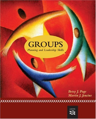 Groups Planning and Leadership Skills  2008 edition cover