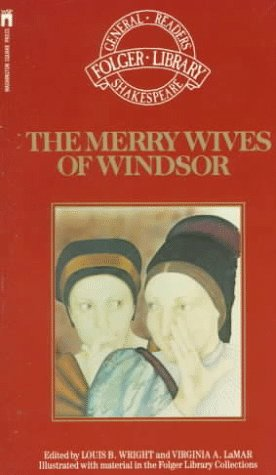 Merry Wives of Windsor   1990 9780671731434 Front Cover