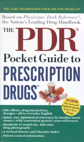 PDR Pocket Guide to Prescription Drugs 4th 2000 (Revised) 9780671786434 Front Cover