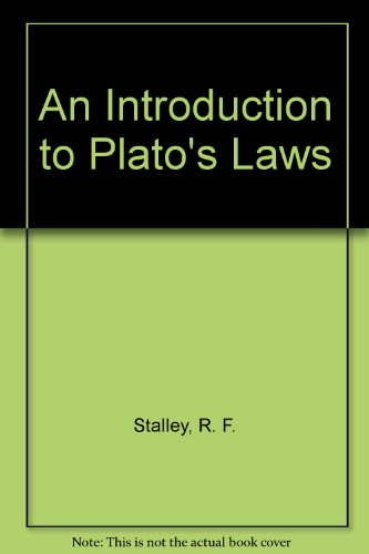 Introduction to Plato's Laws  N/A edition cover