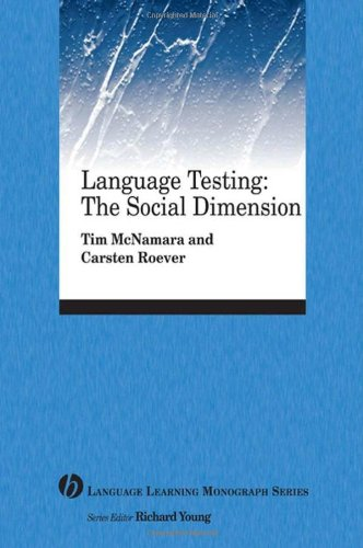 Language Testing The Social Dimension  2006 edition cover
