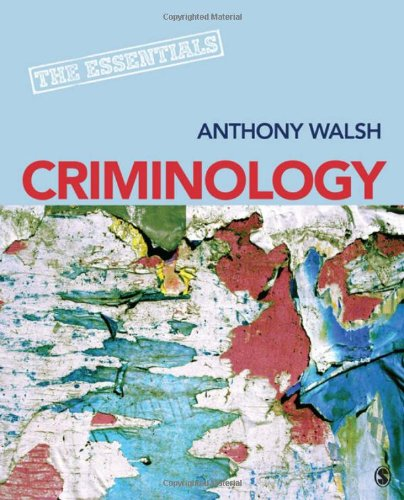Criminology The Essentials  2012 edition cover