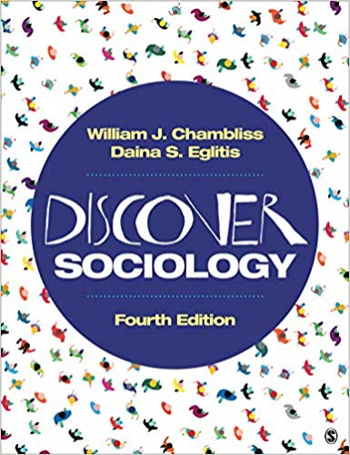Discover Sociology:   2019 9781544333434 Front Cover
