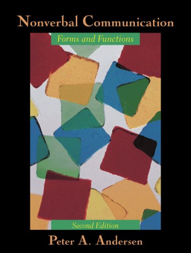 Nonverbal Communication Forms and Functions 2nd 2008 edition cover