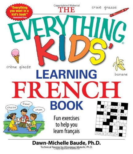 Learning French Book Fun Exercises to Help You Learn Francais  2008 edition cover