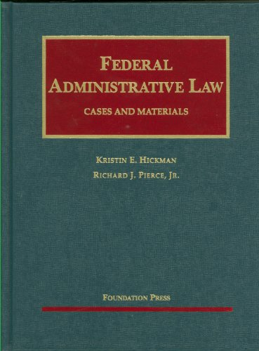 Federal Administrative Law   2010 edition cover