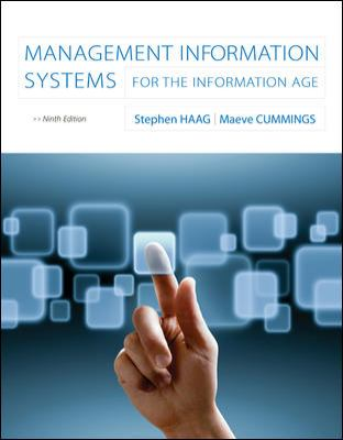 Management Information Systems For the Information Age 9th 2013 edition cover