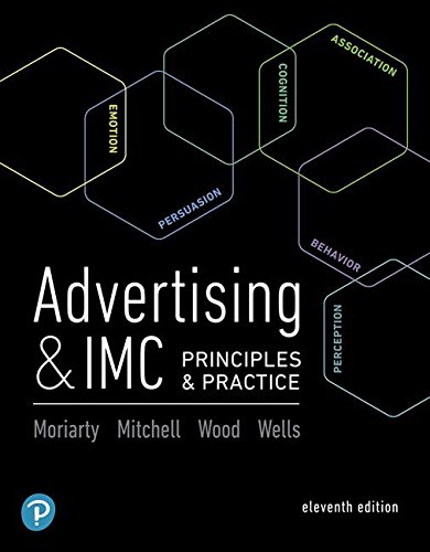 Advertising & Imc: Principles and Practice  2018 9780134480435 Front Cover
