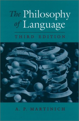 Philosophy of Language  4th 2001 (Revised) 9780195135435 Front Cover