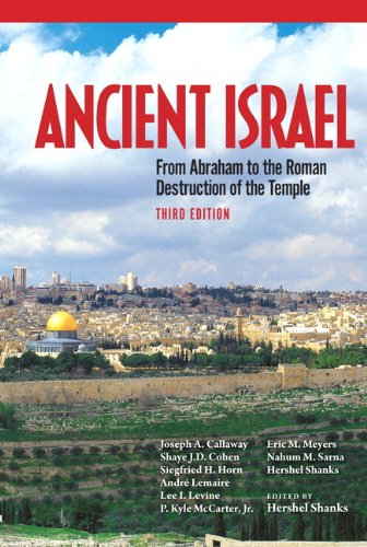 Ancient Israel  3rd 2011 edition cover