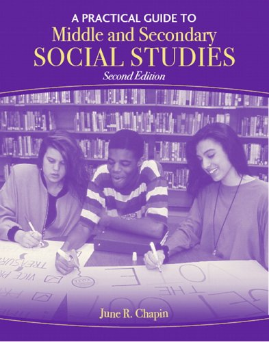 Middle and Secondary Social Studies  2nd 2007 9780205492435 Front Cover