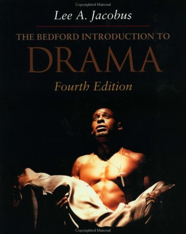 Bedford Introduction to Drama 4th 2001 edition cover