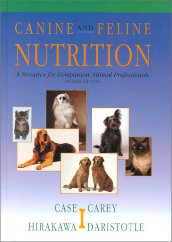 Canine and Feline Nutrition A Resource for Companion Animal Professionals 2nd 2000 (Revised) edition cover