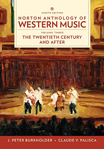 Norton Anthology of Western Music  8th 9780393656435 Front Cover