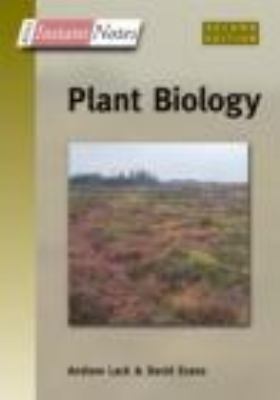 BIOS Instant Notes Plant Biology  2nd 2005 (Revised) 9780415356435 Front Cover