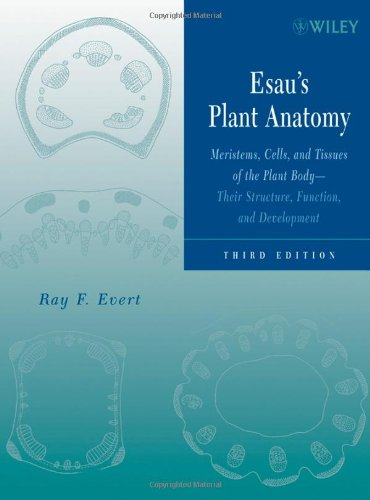 Esau's Plant Anatomy Meristems, Cells, and Tissues of the Plant Body - Their Structure, Function, and Development 3rd 2006 (Revised) edition cover