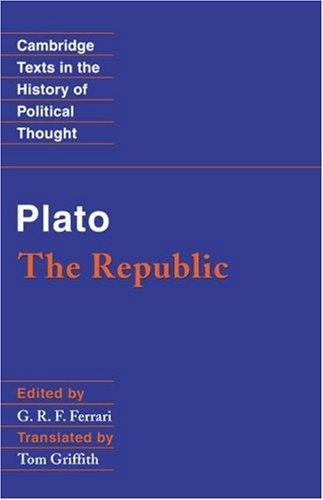 Plato The Republic  2000 edition cover