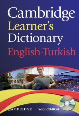 Cambridge Learner's Dictionary English-Turkish with CD-ROM   2009 9780521736435 Front Cover
