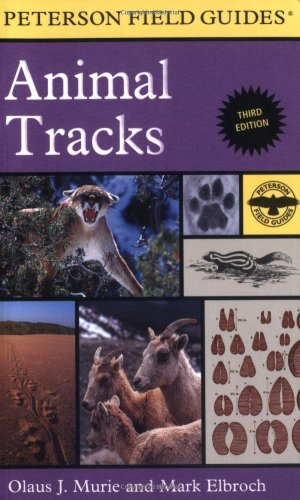 Peterson Field Guide to Animal Tracks Third Edition 3rd 2005 edition cover