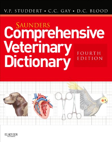 Saunders Comprehensive Veterinary Dictionary  4th 2012 edition cover