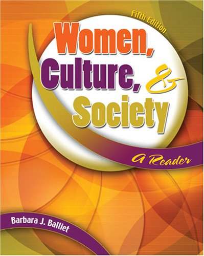 Women, Culture, and Society A Reader 5th 2007 (Revised) edition cover