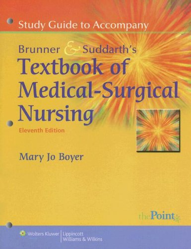 Textbook of Medical-Surgical Nursing  11th 2008 edition cover