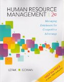 Human Resource Management   2016 9780983332435 Front Cover