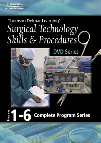 Surgical Technology Skills and Procedures   2006 9781401891435 Front Cover