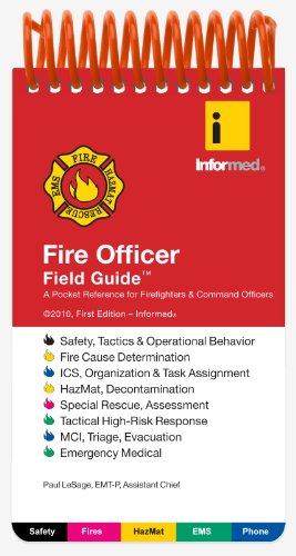 Fire Officer Field Guide   2010 edition cover