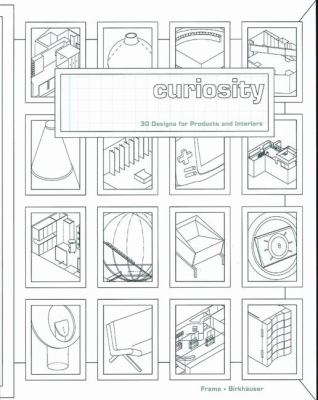 Curiosity 30 Designs for Products and Interiors  2002 9783764367435 Front Cover