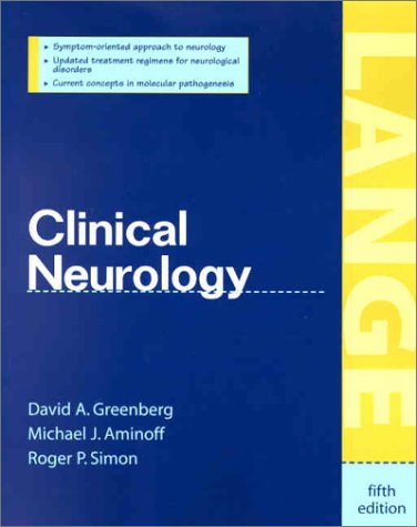 Clinical Neurology  5th 2002 9780071375436 Front Cover