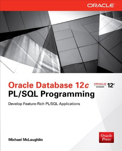 Oracle Database 12C PL/SQL Programming   2014 9780071812436 Front Cover
