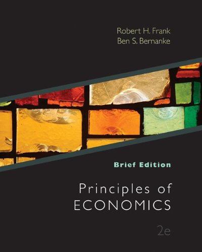 Principles of Economics, Brief Edition  2nd 2011 edition cover