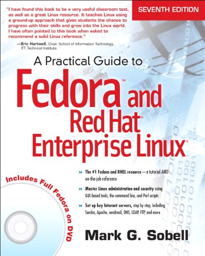 Practical Guide to Fedora and Red Hat Enterprise Linux  7th 2014 edition cover