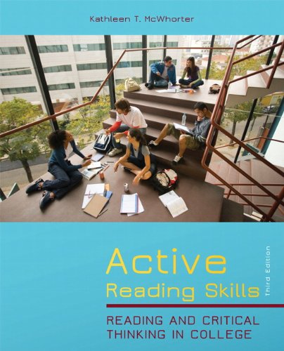Active Reading Skills Reading and Critical Thinking in College 3rd 2012 edition cover