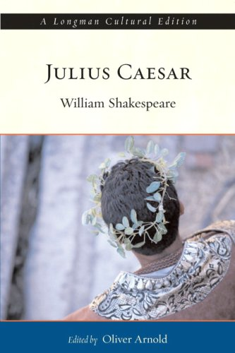 Julius Caesar, A Longman Cultural Edition   2010 9780321209436 Front Cover