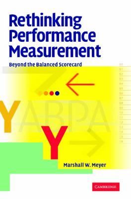 Rethinking Performance Measurement Beyond the Balanced Scorecard  2002 9780521812436 Front Cover